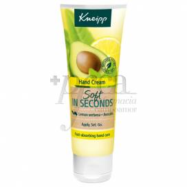 KNEIPP HAND CREAM SOFT IN SECONDS 75 ML