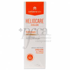 HELIOCARE COLOR GELCREAM LIGHT SPF50 50 ML