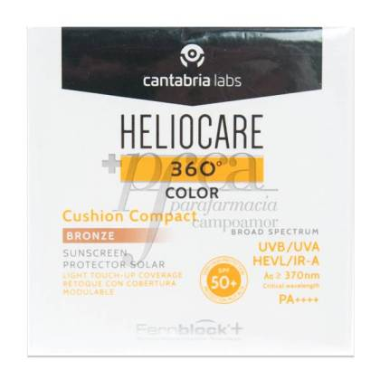 HELIOCARE 360 CUSHION COMPACT SPF50 15G BRONZE