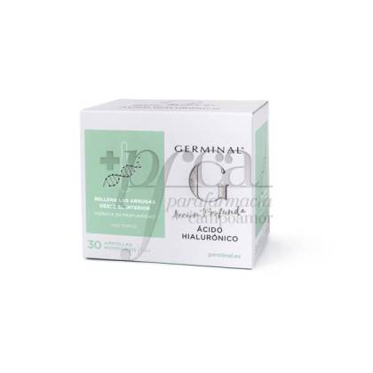 GERMINAL HYALURONIC ACID 30 AMPOULES OF 1 ML
