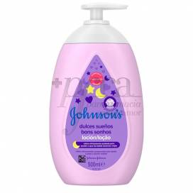 JOHNSONS DULCES SUEÑOS LOTION 500 ML