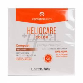 HELIOCARE SPF 50 COMPACTO SOLAR BROWN 10 G