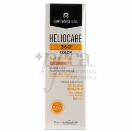 HELIOCARE 360º SPF 50+ GEL OIL-FREE BEIGE
