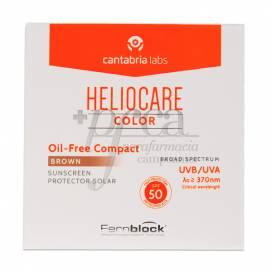 HELIOCARE COMPACTO BROWN OIL FREE SPF50 10G