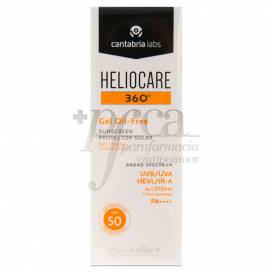 HELIOCARE 360 GEL OIL-FREE SPF50 50ML
