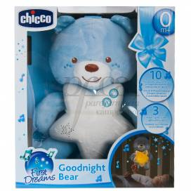 CHICCO GOODNIGHT BEAR FIRST DREAMS BLAU