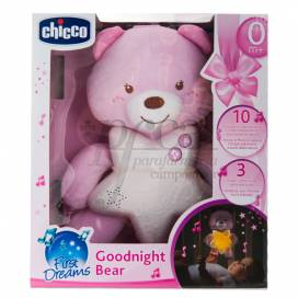 CHICCO GOODNIGHT BEAR FIRST DREAMS PINK