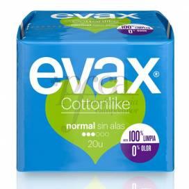 EVAX COTTONLIKE SIN ALAS NORMAL 20 U