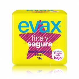 EVAX FINA Y SEGURA MAXI SUPER COM ALAS 11 UNIDADES