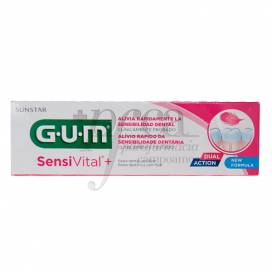 GUM SENSIVITAL+ PASTA DE DENTES 75 ML