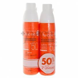 AVENE SPRAY SPF50 200ML + AFTER SUN 50ML PROMO