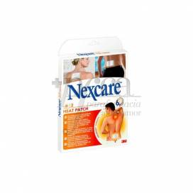 NEXCARE HEAT PATCH 95X130 MM 2 UNITS