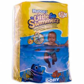 HUGGIES LITTLE SWIMMERS T2-3 3-8KG 12 UNIDADES