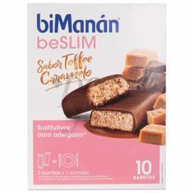 BIMANAN BARRITAS DE TOFFEE 10 UDS