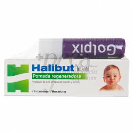 HALIBUT INFANTIL POMADA + GOLPIX PROMO