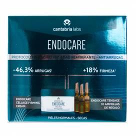 ENDOCARE CELLAGE FIRMING CREAM 50 ML + 10 AMPULLEN PROMO