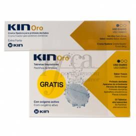 KIN ORO FIJADOR 75 ML + 30 TABLETES PROMO