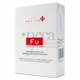 VITAL PLUS ACTIVE FU TROCKENE HAUTSCHUPPUNG 40ML