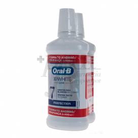 ORAL-B 3DWHITE COLUTORIO 2X 500ML PROMO