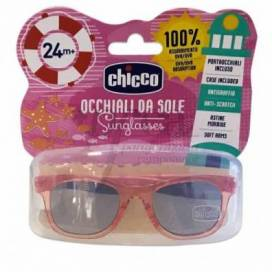 CHICCO ORANGEN TRANSPARENT SONNENBRILLE +24 MONATE