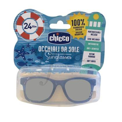 CHICCO BLUE TRANSPARENT SUNGLASSES +24 MONTHS