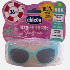 CHICCO GREEN AND PURPLE SUNGLASSES +36 MONTHS