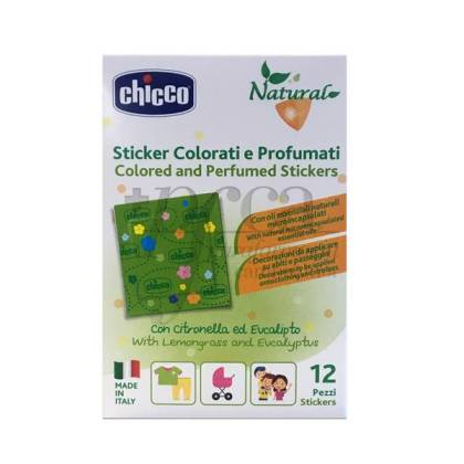 CHICCO PERFUMED PATCH 12 UNITS