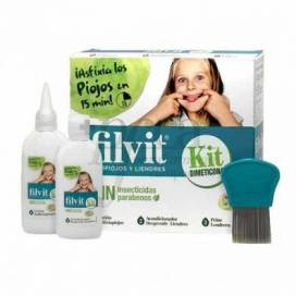 FILVIT KIT WITHOUT INSECTICIDES LOTION 125 ML X 2 UNITS