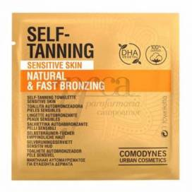 COMODYNES SELF-TANNING WIPES FOR SENSITIVE SKIN 8 UNITS