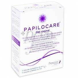 PAPILOCARE VAGINAL GEL 7 CANNULAS 5 ML