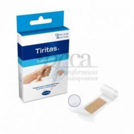 TIRITAS TRANSPARENTES 20 UDS HARTMANN