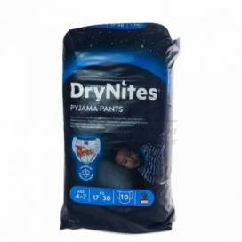 DRYNITES PYJAMA PANTS 4-7A 17-30KG 10 UNIDADES MENINO