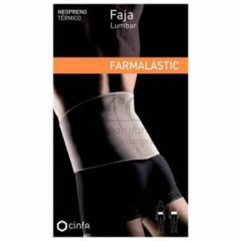 FARMALASTIC NEOPRENE LUMBAR BELT MEDIUM SIZE 83-96 CM