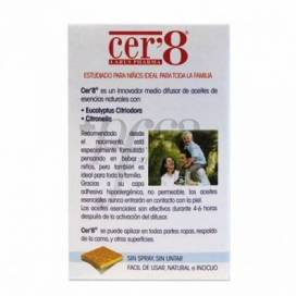 CER8 24 ANTI-MOSQUITOES PATCHES
