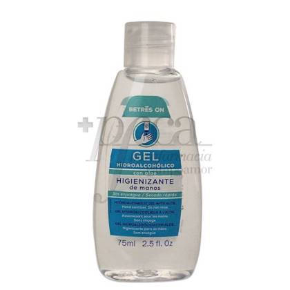 BETRES ON HYDROALCOHOLIC GEL WITH ALOE VERA 75 ML
