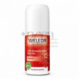 WELEDA GRANATAPFEL 24 H DESODORANT ROLL ON 50 ML