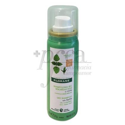 KLORANE NETTLE DRY SHAMPOO FOR DARK HAIR 50 ML