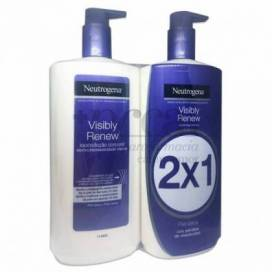 NEUTROGENA VISIBLY RENEW LOTION FÜR TROCKENE HAUT 2X750 ML PROMO