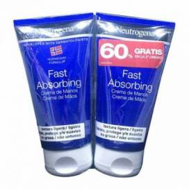 NEUTROGENA FAST ABSORPTION HAND CREAM 2X75 ML PROMO
