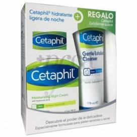 CETAPHIL HIDRATANTE NOCHE 48G + PEELING 178 ML PROMO