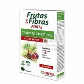 ORTIS FRUTAS&FIBRAS FORTE 12 CAPS