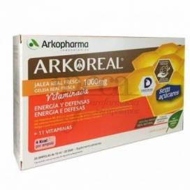 ARKOREAL ROYAL JELLY WITH VITAMINS SUGARFREE 20 AMPOULES