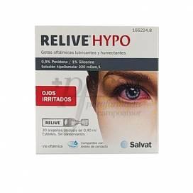 RELIVE HYPO AUGENTROPFEN 30 ENZELDOSEN