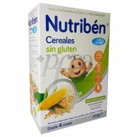 NUTRIBEN GLUTENFREIE GETREIDE BABYBREI MIT MILCH