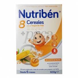NUTRIBEN 8 CEREAIS E MEL 600 G