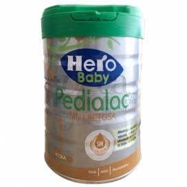LEITE HERO BABY PEDIALAC SEM LACTOSA 800 GR