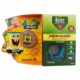 RELEC PULSEIRA CLICK-CLACK + RELÓGIO PEZ