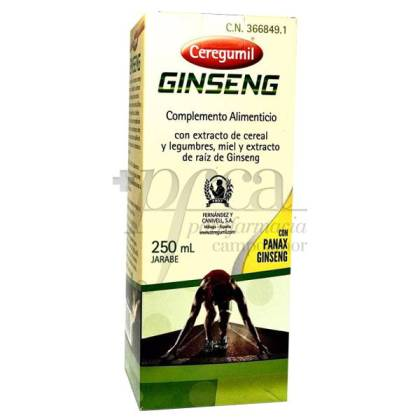 CEREGUMIL GINSENG 250 ML