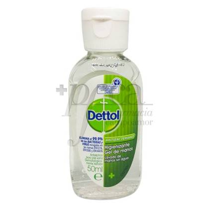 DETTOL GEL MANOS ANTIBACTERIANO 50 ML