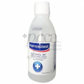 HANSAPLAST ALCOHOL 96 º DESNATURALIZADO 250 ML